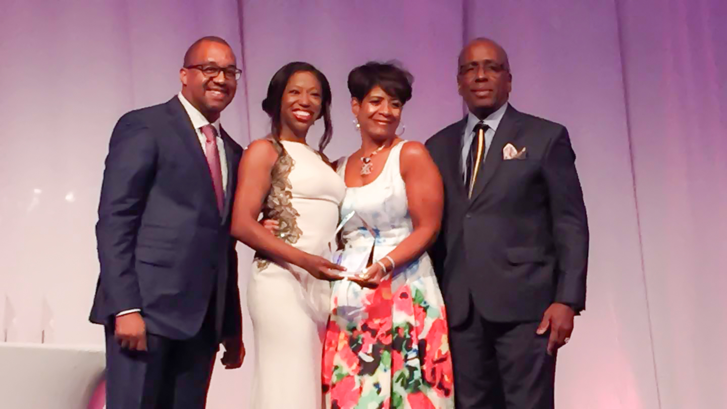 Rising Star Award recipient Kia Wadette Bradford