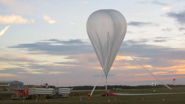 UAH Balloon EUSO team has first-flight success