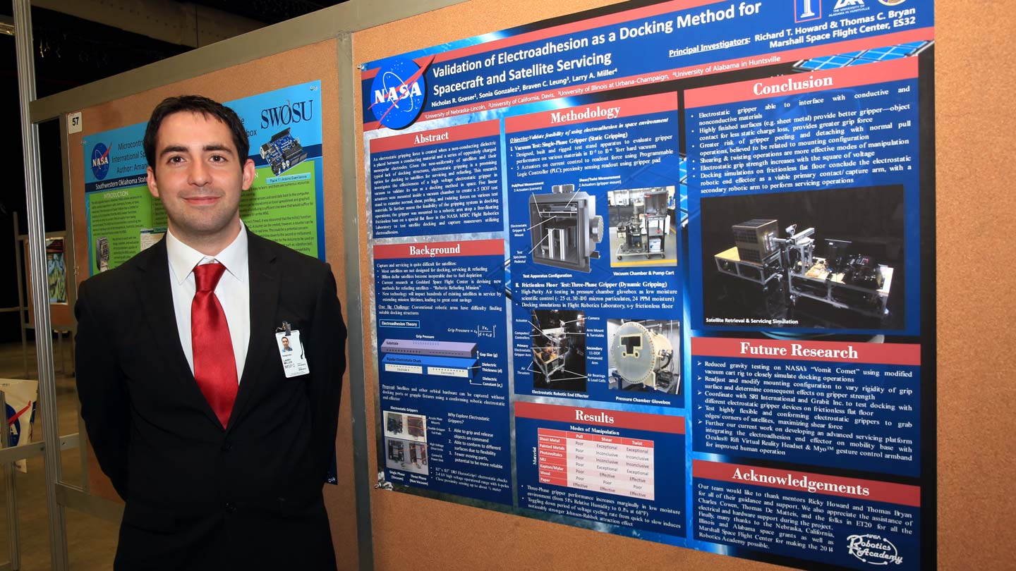 Six students graduate from 'spectacular' NASA internships