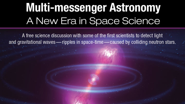 multi messenger astronomy