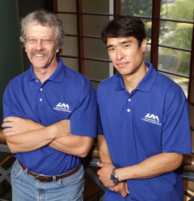 Allen Wilhite and Eric Fong