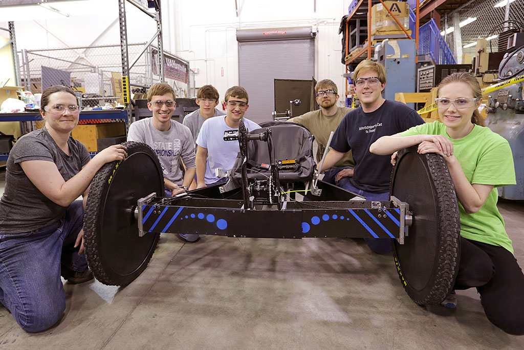 UAH Carbon Charger team