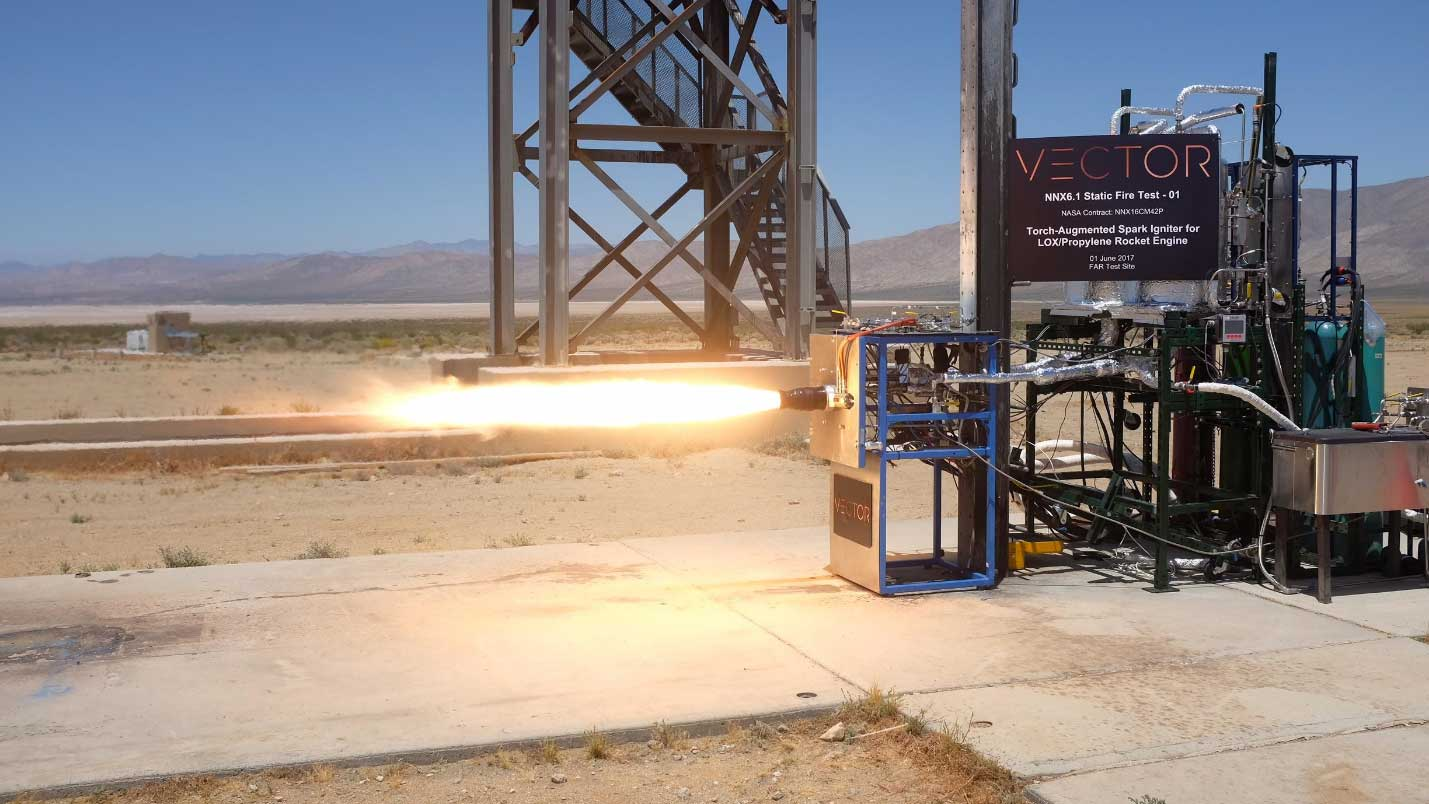 Vector-R Launch Vehicle engine