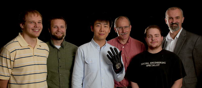 Jiake Liu, Stephen Dond, Douglas Kirby Chris Heath and Dr. B. Earl Wells