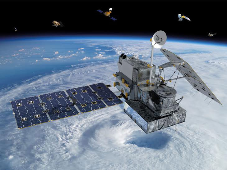 NASA's Global Precipitation Measurement (GPM) satellite