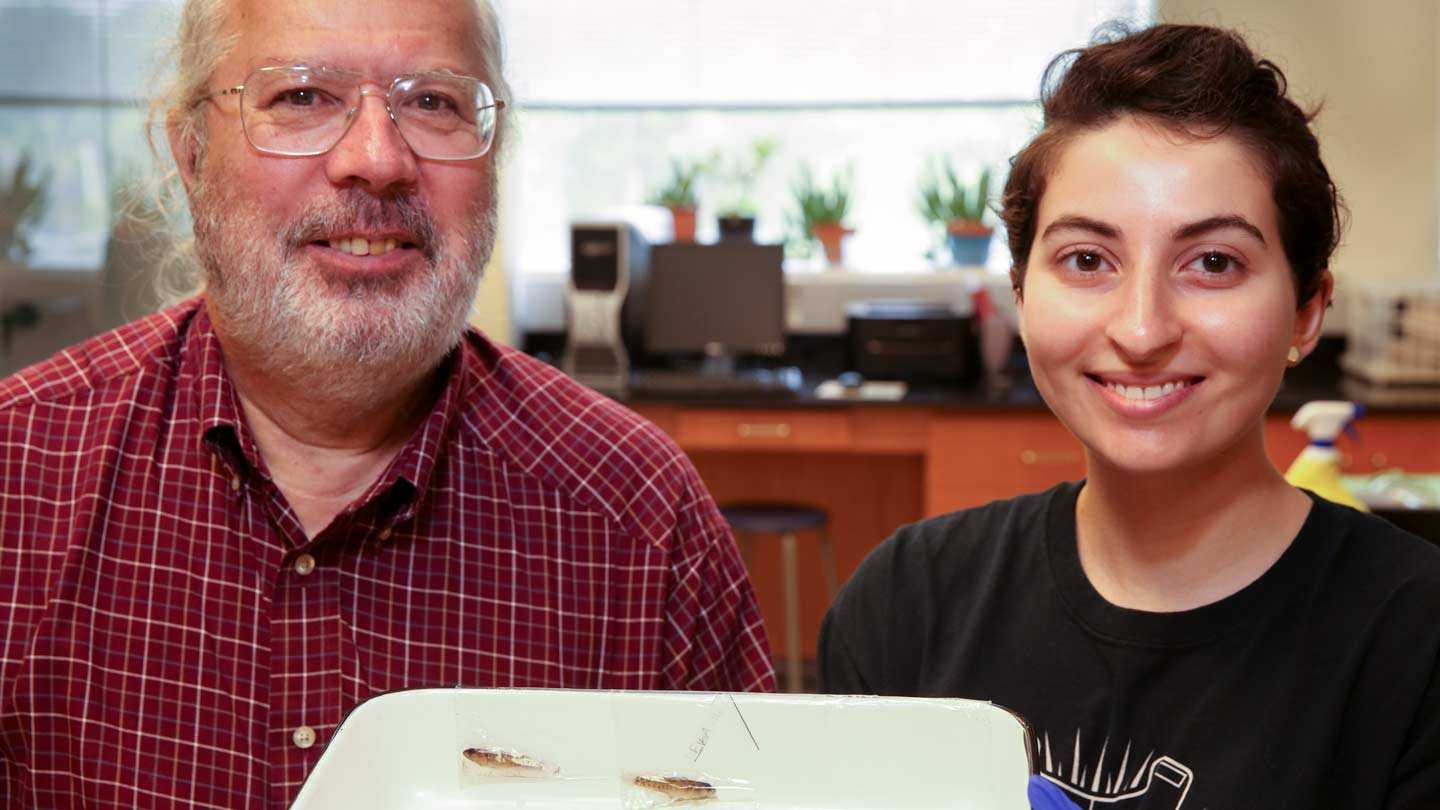 Dr. Bruce Stallsmith and Zeina Sleiman