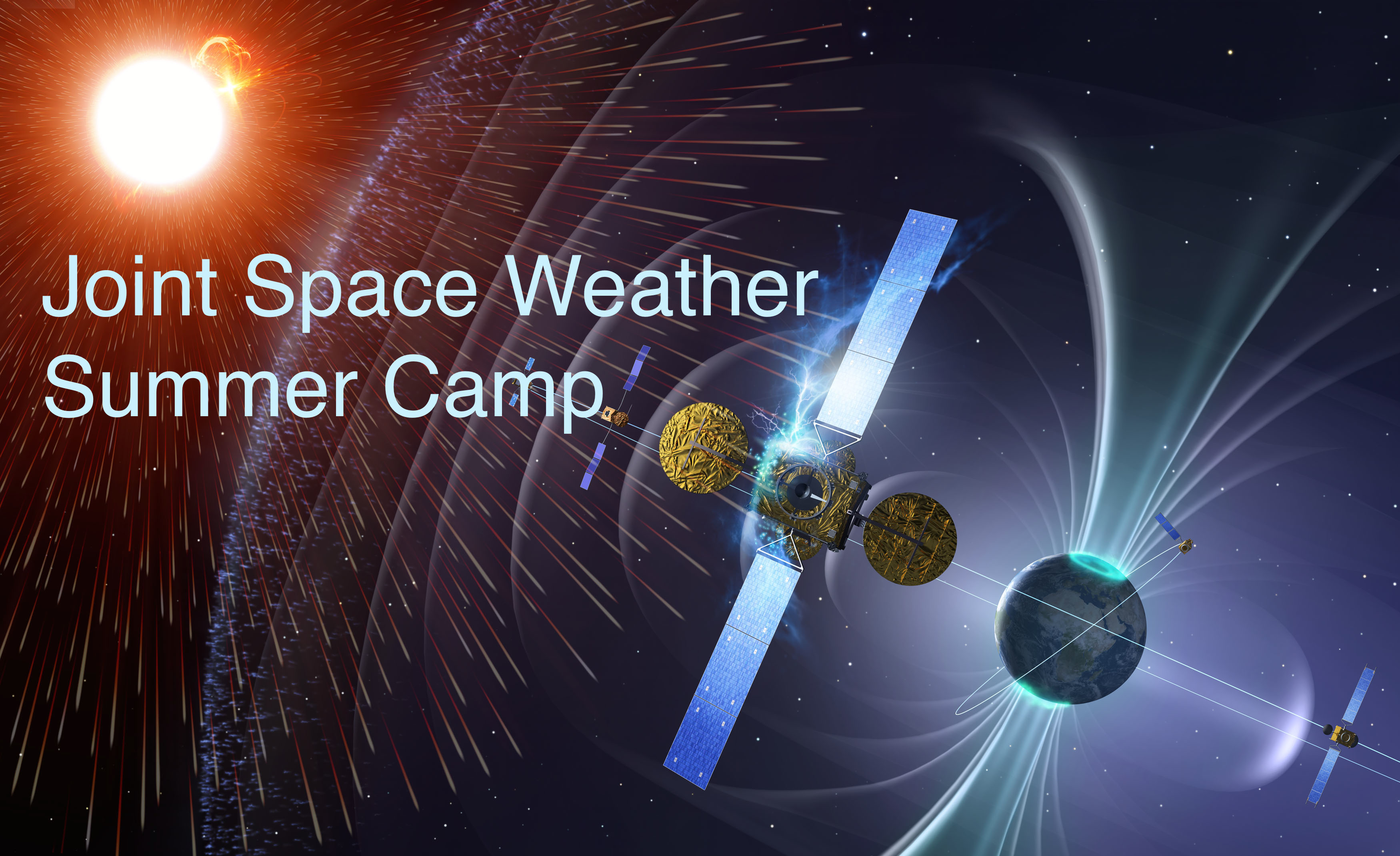 Joint Space Weather Summer Camp header graphic