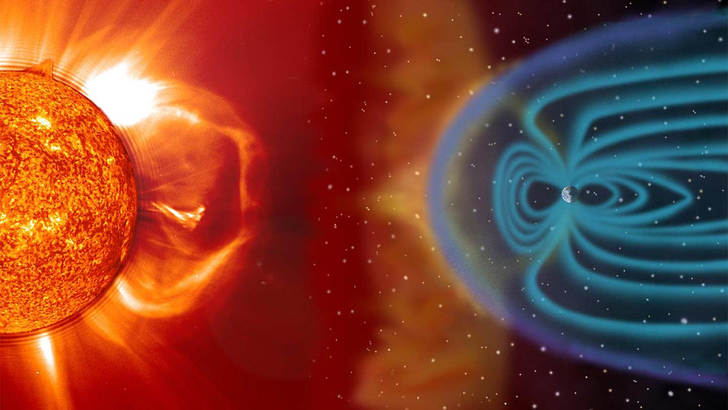 NASA SOHO Magnetic Field