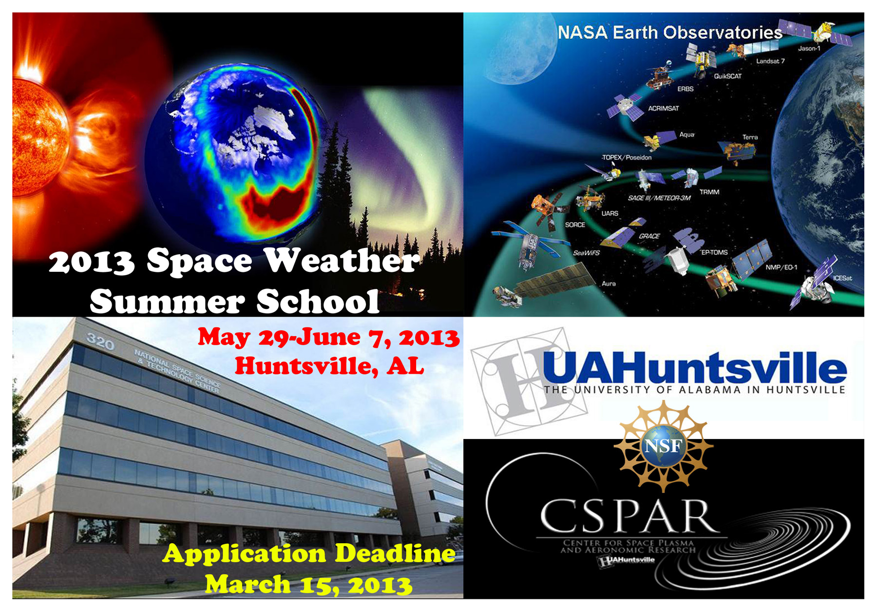 Space Weather Summer School 2013_Poster