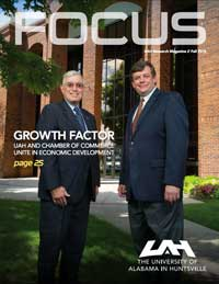 Cover and link to 2015 - Fall FOCUS magazine