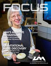 Cover and link to 2016 - Spring FOCUS magazine