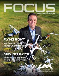 Cover and link to 2017 - Spring FOCUS magazine
