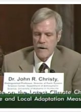 UAHuntsville's Christy tells Senate committee about 'climate change'